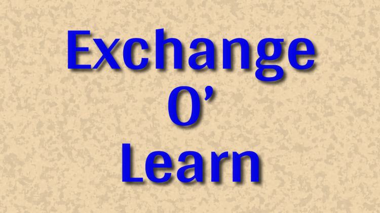 Exchange O' Learn