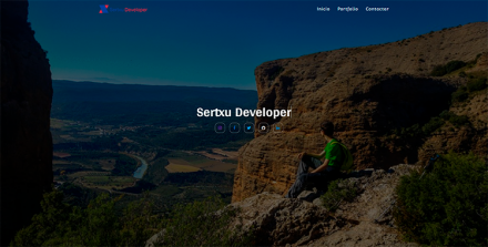 Sertxu Developer (Previous Website)